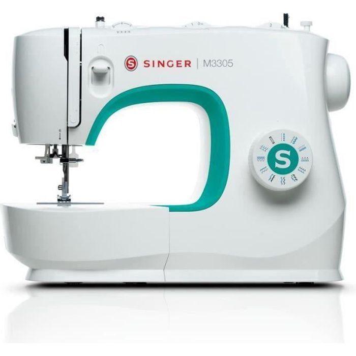 Macchina da cucire SINGER M3305 - 23 programmi di punto - 70W