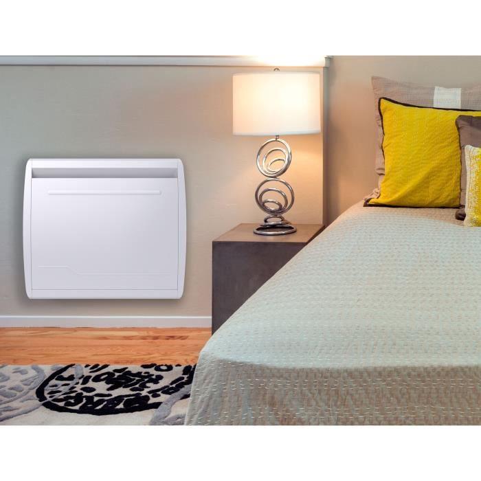 MAZDA 1000 watt Radiatore inerziale elettrico - Soft Heat - Doppia tecnologia: Pellicola inerziale ceramica - Programmazione LCD