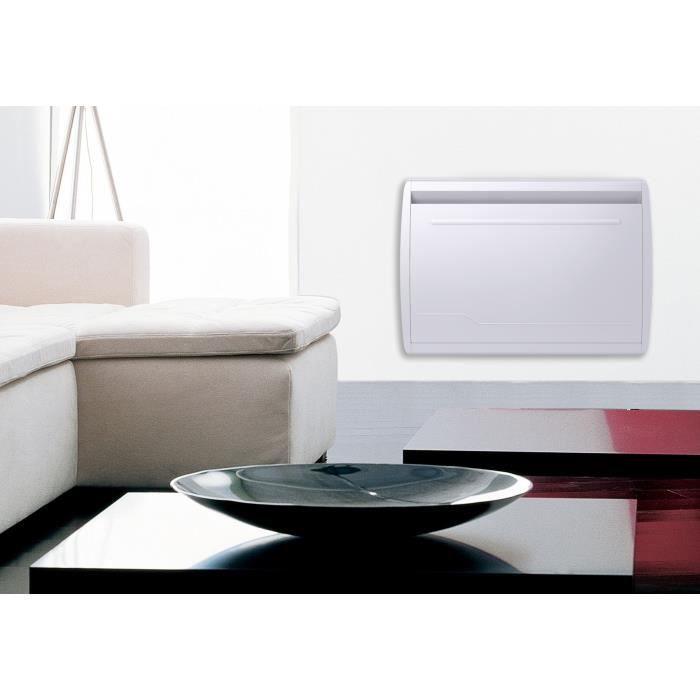 MAZDA 1500 watt Radiatore inerziale elettrico - Soft Heat - Doppia tecnologia: Pellicola inerziale ceramica - Programmazione LCD