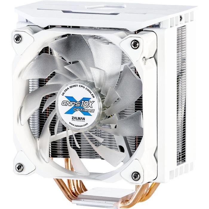 ZALMAN - CNPS10X Optima II White (RGB) - Processore Ventirad