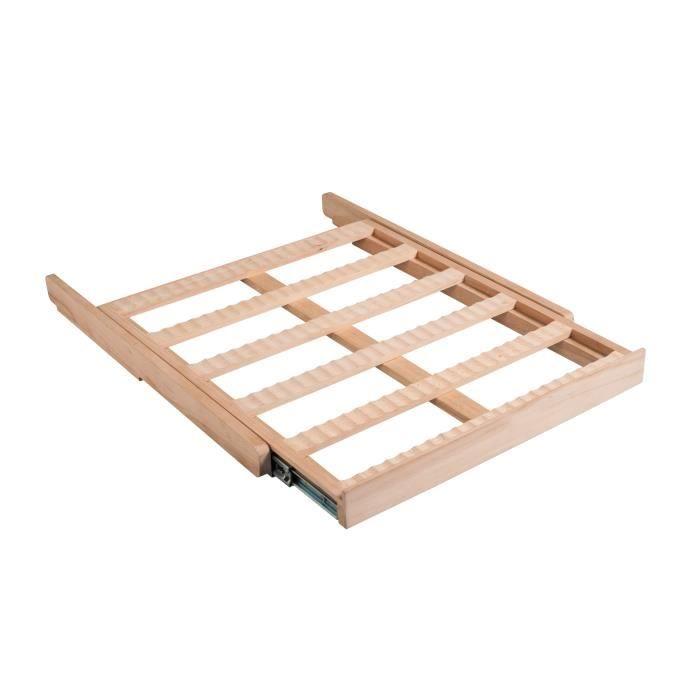 LA SOMMELIERE CLATRAD10 - Scaffale scorrevole in legno