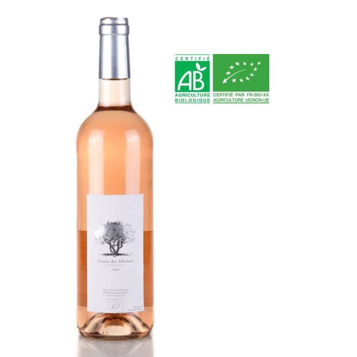 Domaine des Captives Cuvée des Oliviers - vin Rosé de France