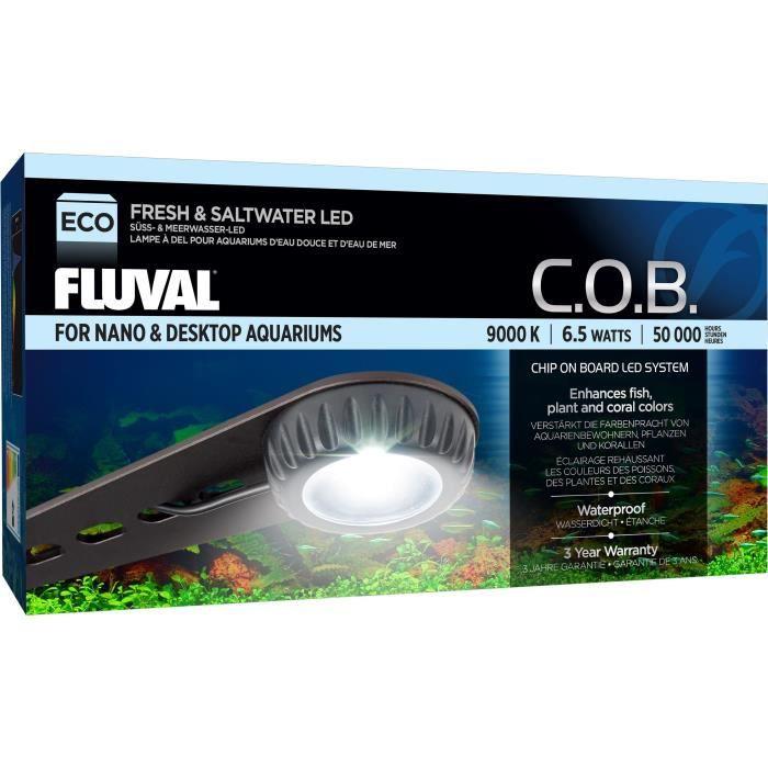 FLUVAL Appareil d'éclairage compact Nano LED - Pour poisson