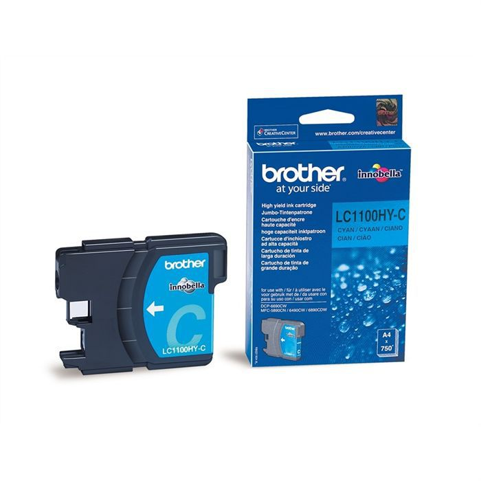 BROTHER Cartuccia LC1100HYC