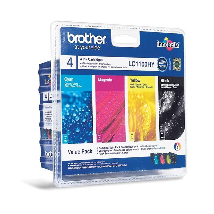 Cartuccia d'inchiostro a colori LC1100 Brother