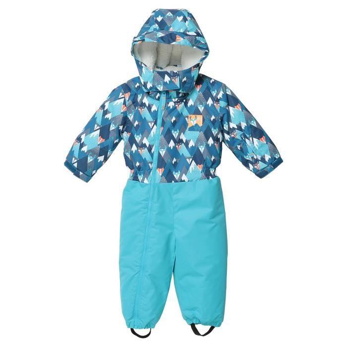 WANABEE Combinaison de ski Chauvet CBI - Bébé Garçon - Bleu