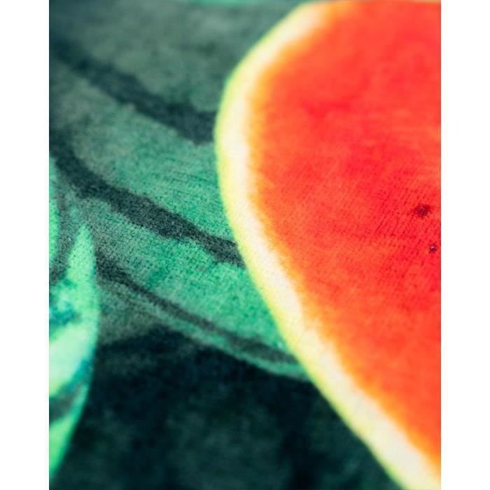 LEUS Serviette plage 148x84cm WATERMELON WONDERLAND GREEN