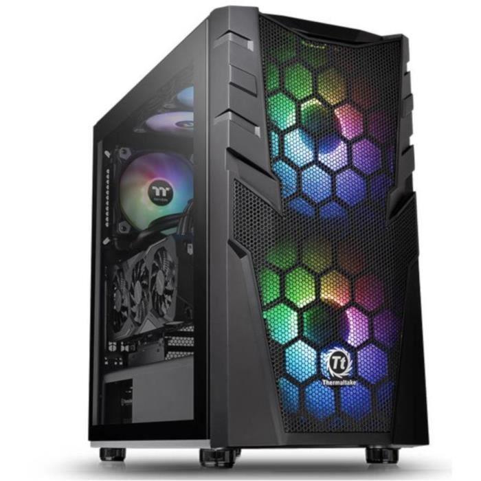 THERMALTAKE CASE PC Commander C32 - Torre media - Nero - Vetro temperato - Formato ATX (CA-1N3-00M1WN-00)