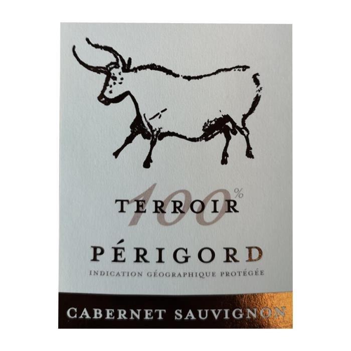 100% Terroir 2018 Périgord - Vin rouge du Sud-Ouest