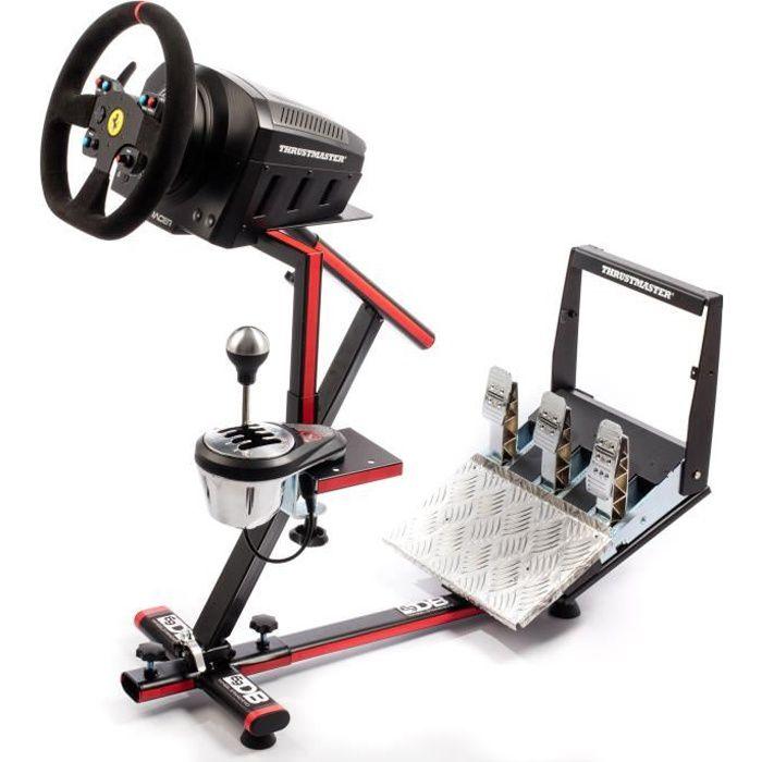69DB Support Wheel Stand EVO - Pour volant, pédalier et boite de vitesse - Compatibilité Thrustmaster / Logitech