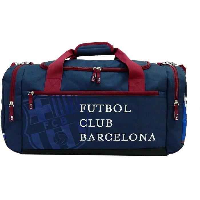FC BARCELONE Sac de Sport 60 cm 1 Compartiment + 3 Poches Mixte
