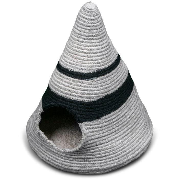 VADIGRAN Tipi Berber - 50x50x40 cm - Caramel - Pour chien