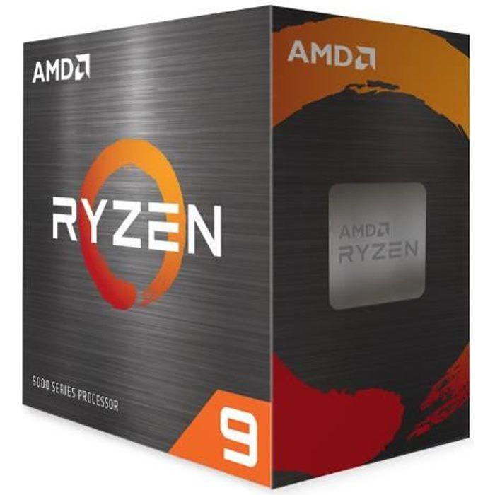 Processeur AMD RYZEN 9 5950X - AM4 - 4,90 GHz - 16 coeurs