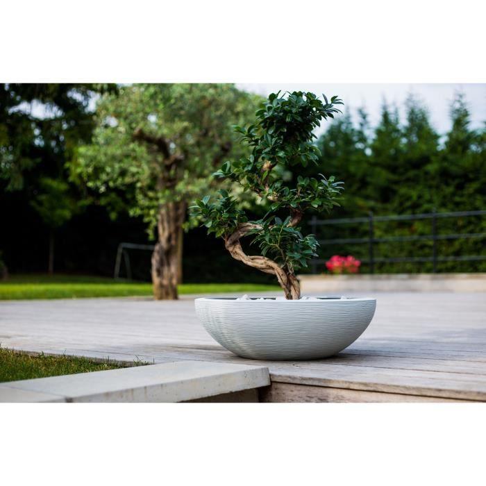 EDA Pot vasque Graphit Ø59cm - Contenance 39L - Blanc cérusé