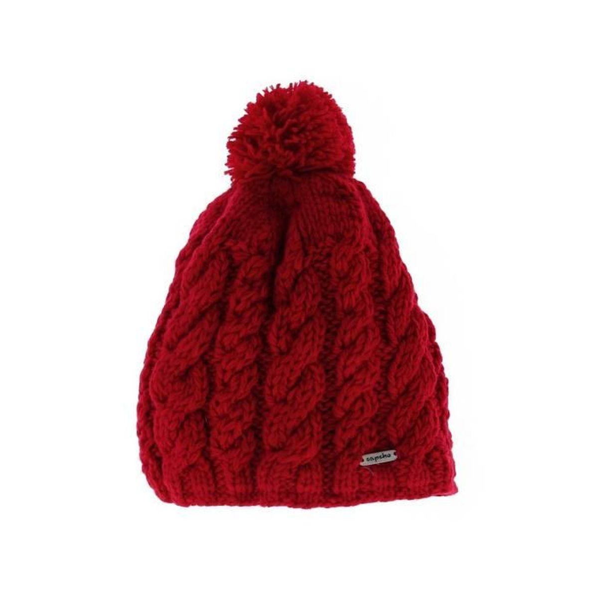 Doublure Saki Polaire Rouge Bonnet Capcho Achat Acrylique Et q4wvwWEf