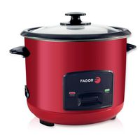 CUISEUR À RIZ FAGOR - Cuiseur a riz FG113R 1.5L rouge