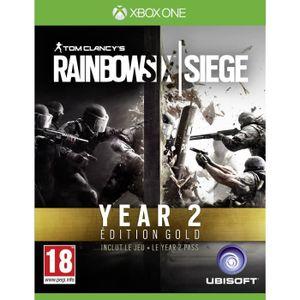 JEU XBOX ONE Rainbow Six Siege Gold 2 Jeu Xbox One