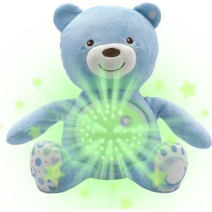 CHICCO Ourson Projecteur Baby Bear Bleu First Dreams
