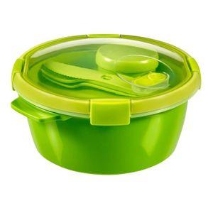 CURVER Smart Lunch box ronde 1,6L avec couverts