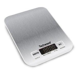 TECHWOOD - Balance de cuisine digitale TPA-5000