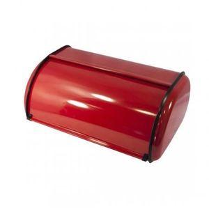 boite a pain rouge achat vente boite a pain rouge pas cher cdiscount. Black Bedroom Furniture Sets. Home Design Ideas