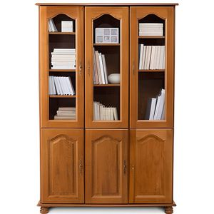 bibliotheque avec porte vitree achat vente bibliotheque avec porte vitree pas cher soldes. Black Bedroom Furniture Sets. Home Design Ideas