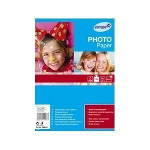 PAPIER PHOTO Papier photo europe 100, a4, blanc, très brilla…