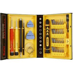 TOURNEVIS boite à outils réparation kit de tournevis 38 pcs