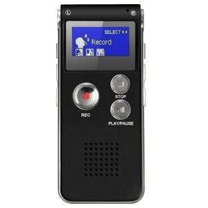 DICTAPHONE - MAGNETO. Juce® Dictaphone Numérique 8GB Enregistreur Vocal