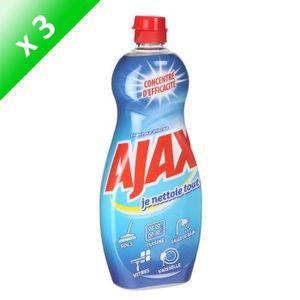 NETTOYAGE MULTI-USAGE AJAX Gels Intense -750 ml - Lot de 3