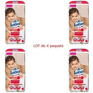 COUCHE LOTUS BABY Touch Culottes d'apprentissage Taille 6