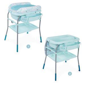TABLE À LANGER CHICCO Combi de bain Change Cuddle & Bubble - Dust