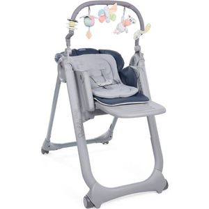 CHAISE HAUTE  CHICCO Chaise Haute Polly Magic Relax 4 Roues indi