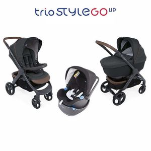 POUSSETTE  CHICCO Trio StyleGo Up Bebecare Graphite