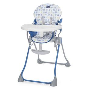 CHAISE HAUTE  CHICCO Chaise haute POCKET MEAL Blue