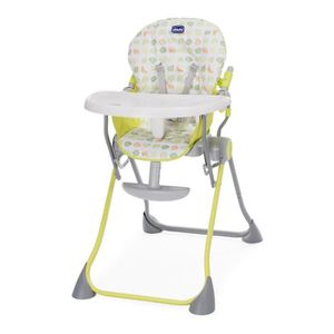 CHAISE HAUTE  CHICCO Chaise haute POCKET MEAL Green apple