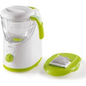 ROBOT BÉBÉ CHICCO Robot Cuiseur Vapeur Mixeur Easy Meal