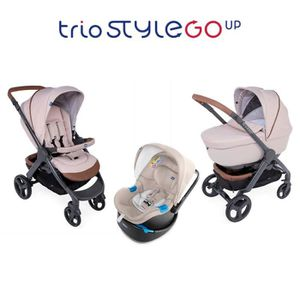 POUSSETTE  CHICCO Trio StyleGo Up Bebecare Beige