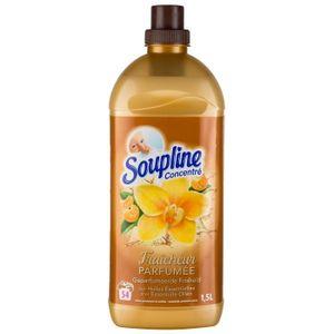 LIQUIDE LAVE-VAISSELLE SOUPLINE Concentré Elixir Vanille et Clémentine