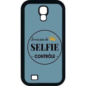SMARTPHONE Coque pour smartphone - Plastique - Noir Samsung I