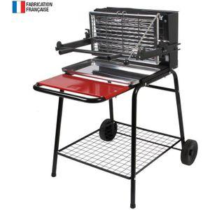 BARBECUE So Magic - Barbecue au charbon de bois à foyer ver