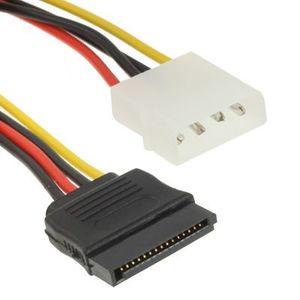 CÂBLE D'ALIMENTATION Adaptateur d'alimentation 4 Pin IDE vers Serial…