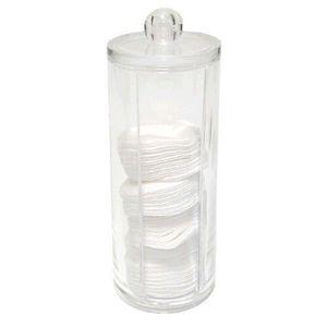 DISTRIBUTEUR DE COTON Boîte à coton en verre acrylique