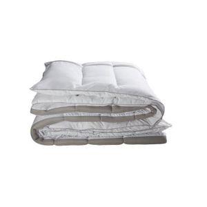 COUETTE BULTEX Couette Hiver 3D 220x240 cm blanc et gris