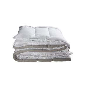 COUETTE BULTEX Couette Hiver 3D 240x260 cm blanc et gris