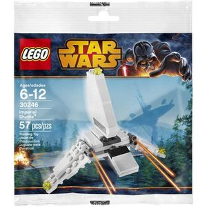 ASSEMBLAGE CONSTRUCTION LEGO STAR WARS - 30246 - IMPERIAL SHUTTLE Collecto