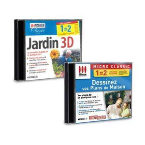BUREAUTIQUE Pack 2 logiciels Jardin 3D et Dessinez vos Plans d