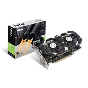 CARTE GRAPHIQUE INTERNE MSI Carte graphique GeForce® GTX 1050 2GT OC - 2Go
