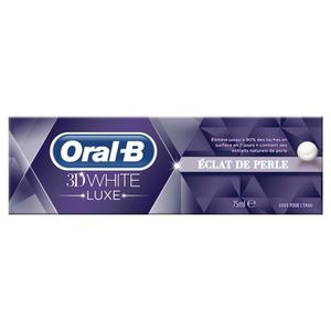 DENTIFRICE ORAL-B Dentifrice 3D WHITE LUXE Éclat & Perle 75ML