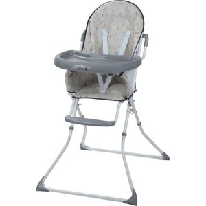 CHAISE HAUTE  SAFETY 1ST Chaise Haute Kanji - Warm Grey